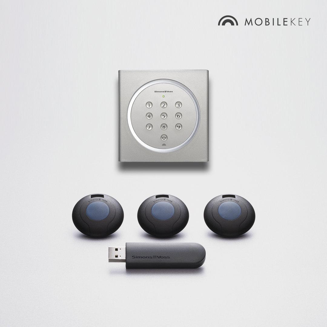 simonsvoss mobilekey starter set 2 mk set2 moditech webshop. Black Bedroom Furniture Sets. Home Design Ideas