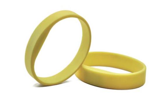 SALTO - Contactless Smart Silicone Wristbands MIFARE 1KB  Size M (5 pcs ) -  WBM01K
