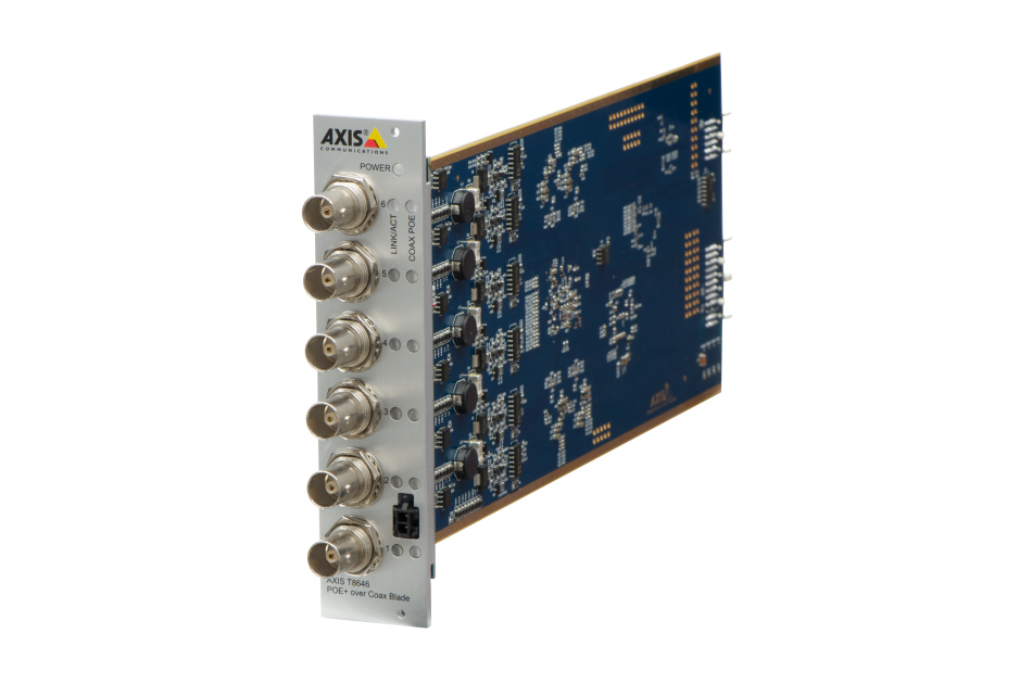 Axis - AXIS T8646 POE+ OVER COAX BLAD