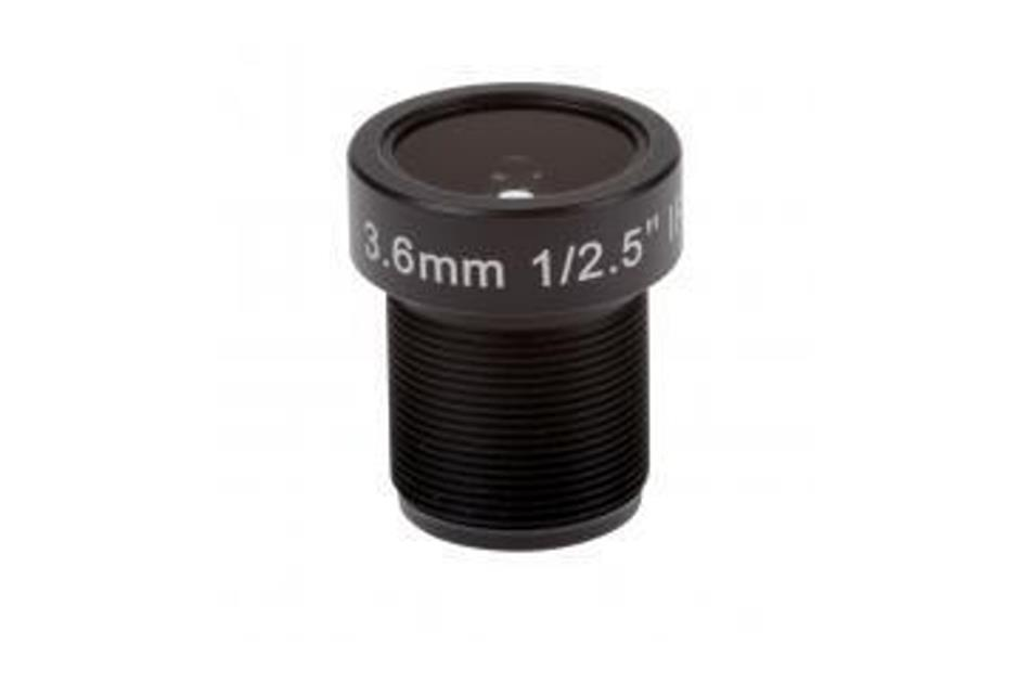 Axis - ACC LENS M12 3.6MM F2.0 10PCS