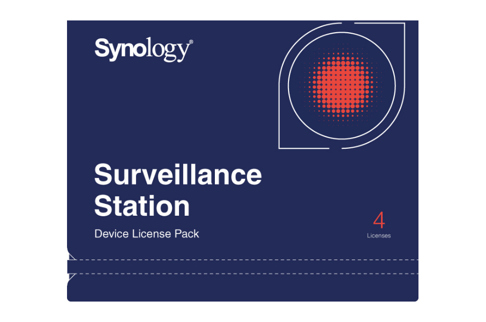 Synology - DEVICE LICENSE (X 4)