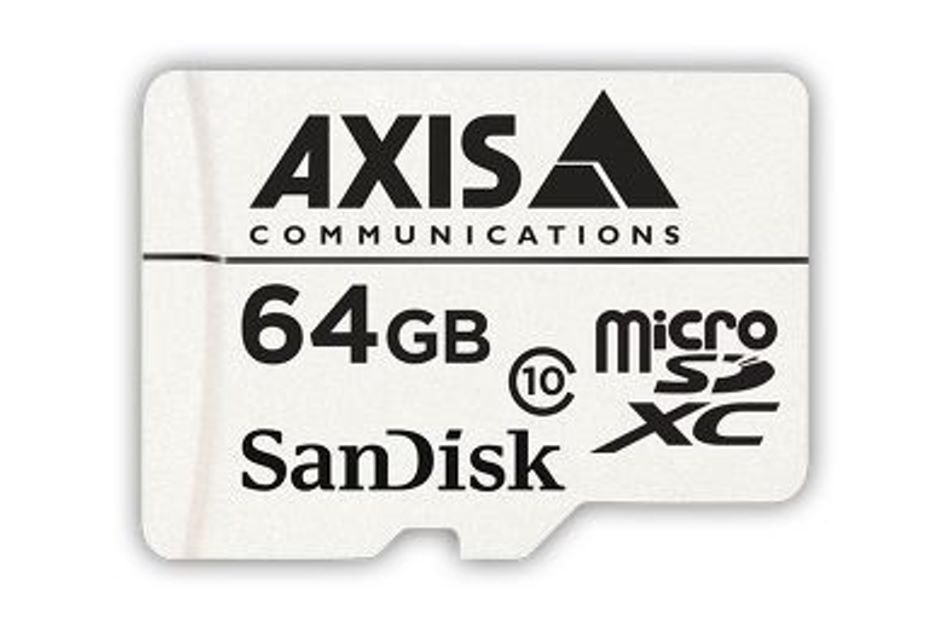 Axis - AXIS SURVEILLANCE CARD 64G 10P
